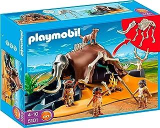 PLAYMOBIL Mammoth Skeleton Tent with Cavemen