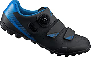 Shimano ME400 SPD MTB Bike Shoes Black/Blue