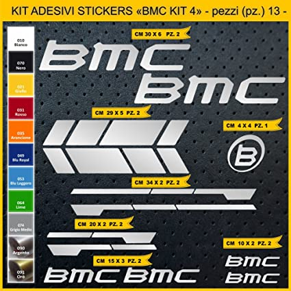 Pima Lab Sticker Bmc Kit 4 Kit Stickers 13 Stickers Bici Bike Cycle Option Cod 0846 Sport Freizeit