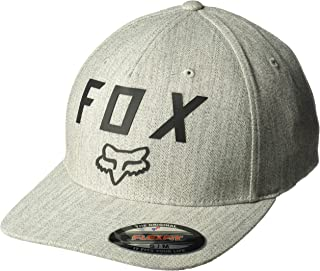 Fox Racing Men's Number 2 Flexfit Hat Blue