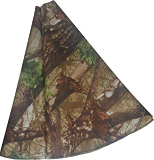 Mistletoe Mill Camouflage Christmas Tree Stand Skirt 46 Inch - Rustic Country Christmas Decoration