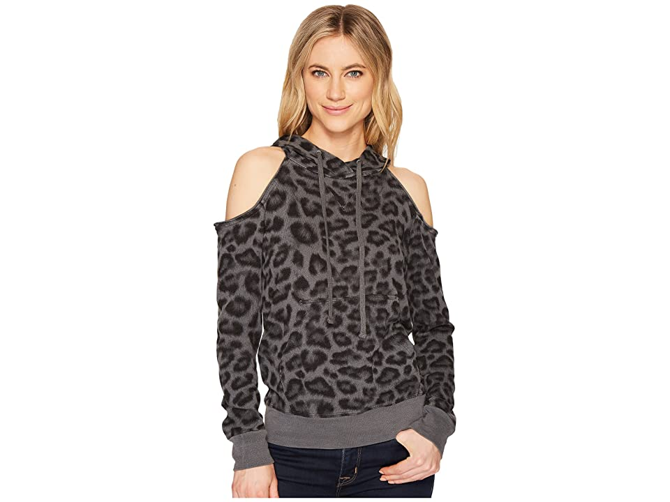 Splendid Cold Shoulder Sweatshirt (Lead) Women