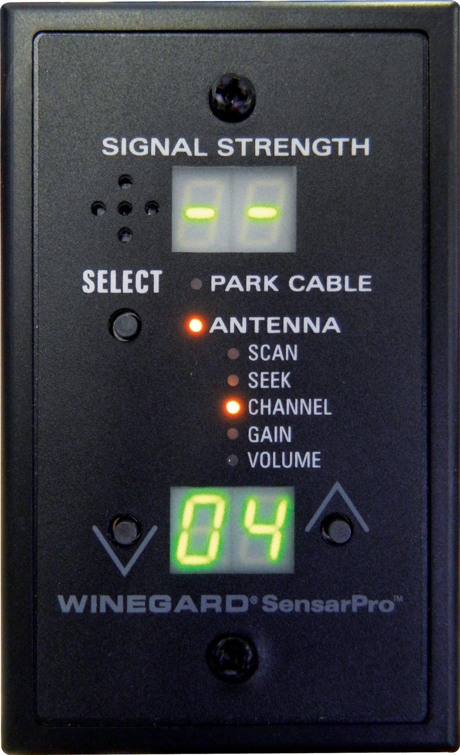 Winegard RFL 332 SensarPro Signal Strength