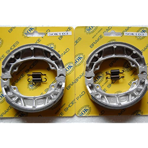 front&rear brake shoes+springs honda trail, 1969-1975 ct70, 1966-1974