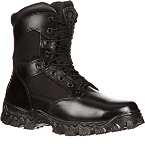 Rocky Men's Alpha Force Side Zipper Waterproof Insulated Duty Boot-RKYD011