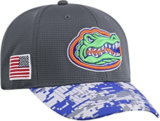 Top of the World NCAA Men's Salute to USA Military -1-Fit Camo Hat Cap