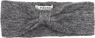 PIECES Women's Pcjosefine Wool Headband Noos, Grey (Medium Grey Melange Medium Grey Melange), One Size