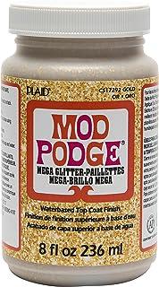 Mod Podge Mega, 8 oz. , Gold Glitter
