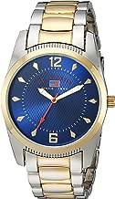 U.S. Polo Assn. Men's Analog-Quartz Watch with Alloy Strap, Two Tone, 20 (Model: US8627)