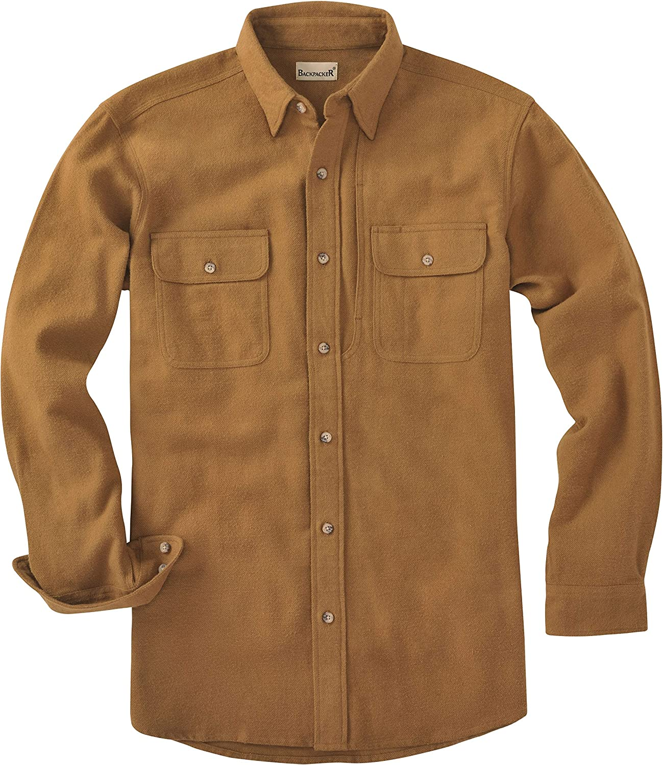 Backpacker Max 49% OFF Men's Heritage Chamois Brown OFFicial site Small Size