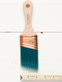 Fusion Mineral Paint Synthetic Bristle Angled Paintbrush