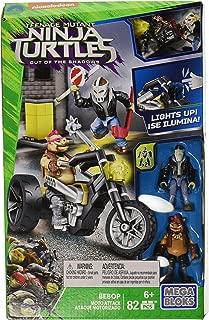 Mega Bloks Teenange Mutant Ninja Turtles: Out of The Shadows Bebop Moto Attack Playset