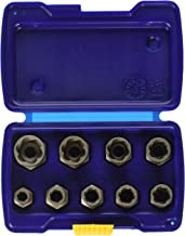 Irwin Industrial Tools 54019 Metric Bolt Extractor Set, 9-Piece