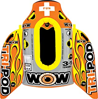 WOW World of Watersports, 13-1020, Tri Pod, 3 Towables in One, Cockpit or Deck Tube