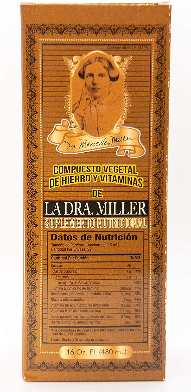 La Dra. Miller 16 oz. Vegetal Compound
