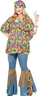 Forum Novelties Women's Plus-Size Hippie Chick Plus Size Costume