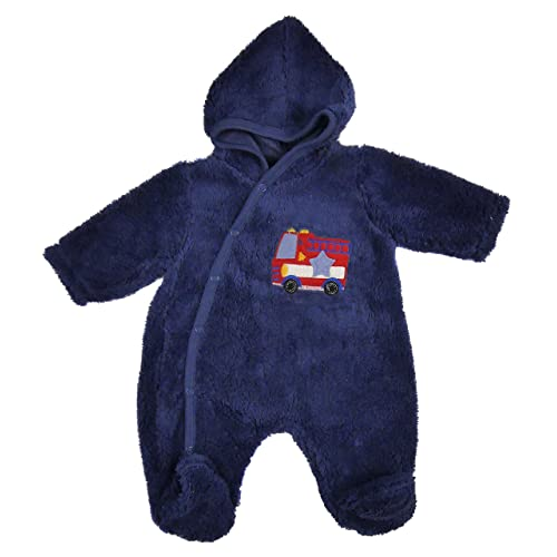 21ac54e360f7d Baby Fleece All in one Lightweight All in One Snowsuit NB 0-3m 3-