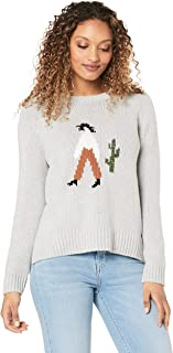 French Connection Women's Cowgirl Knit, Grey Marle/Multi