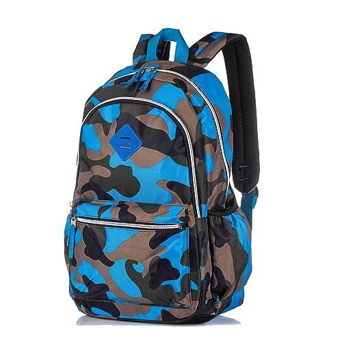 8e0d07ce Camouflage Backpacks Lightweight School Bags Children Shoulder Daypack Kids  Rucksack for Boys and Girls