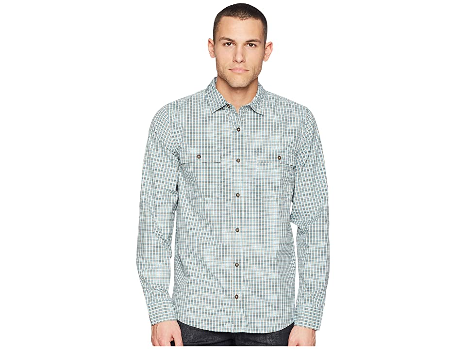 Toad&Co Debug Eddyline Long Sleeve Shirt (Deepwater) Men