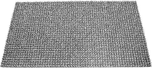 AstroTurf 10187315FG 40 x 70 cm Classic High Performance Outdoor Scraper Doormat - Silver Grey