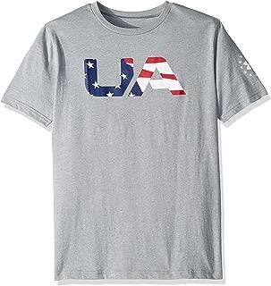 Boy's Freedom Big Flag Logo T-Shirt