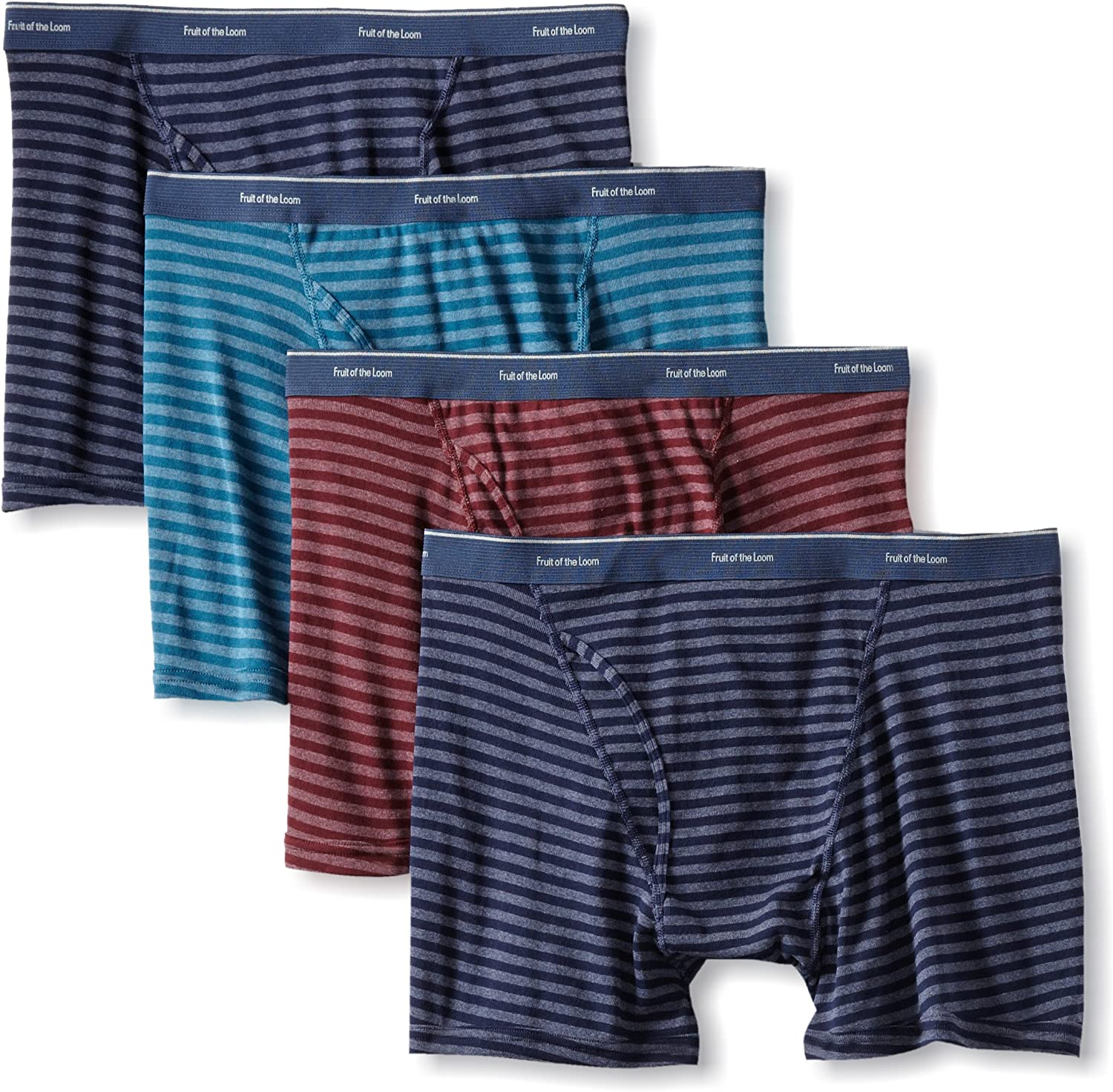 Fruit of the Loom Men's Big Low Rise Boxer - Colors May Vary(Pack of 4)