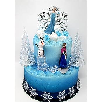 Surprising Amazon Com Cake Toppers Winter Wonderland Princess Elsa Frozen Funny Birthday Cards Online Fluifree Goldxyz