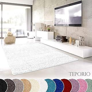 Amazon.fr : tapis blanc chambre