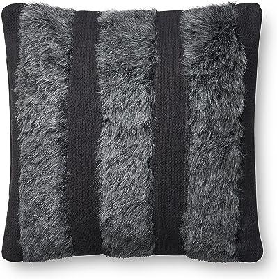 Amazon.com: Colección Thomas Taupe lobo almohada de piel ...