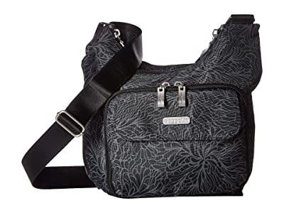Baggallini Legacy Criss Cross Bagg (Midnight Blossom) Cross Body Handbags