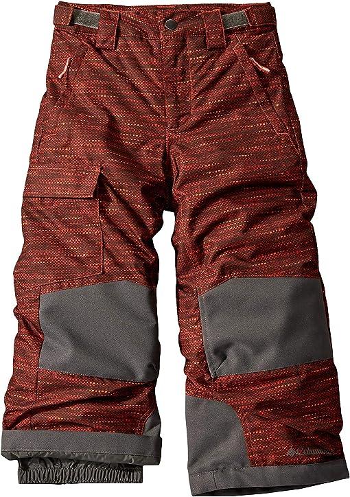 Carnelian Red Tweed Print/Grill