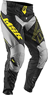 MSR Axxis Pants, Distinct Name: Black/Yellow/Gray, Gender: Mens/Unisex, Primary Color: Gray, Size: 28