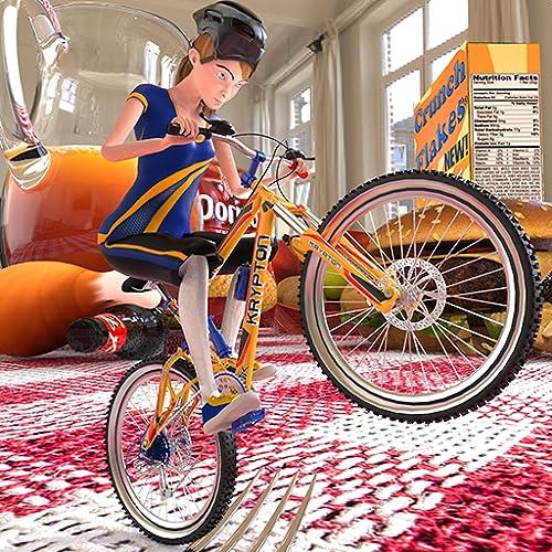 Dirt Bi Cycle Racing Fieber Pro Rush 3D Abenteuer Simulator Spiel: Impossible BMX Crazy Rider Zyklus Mädchen Spiele Kostenlos für Kinder 2018