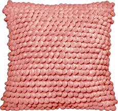 "Urban Loft by Westex Bubbles Salmon Polyester Filled Decorative Throw Pillow Cushion 20"" x 20"""