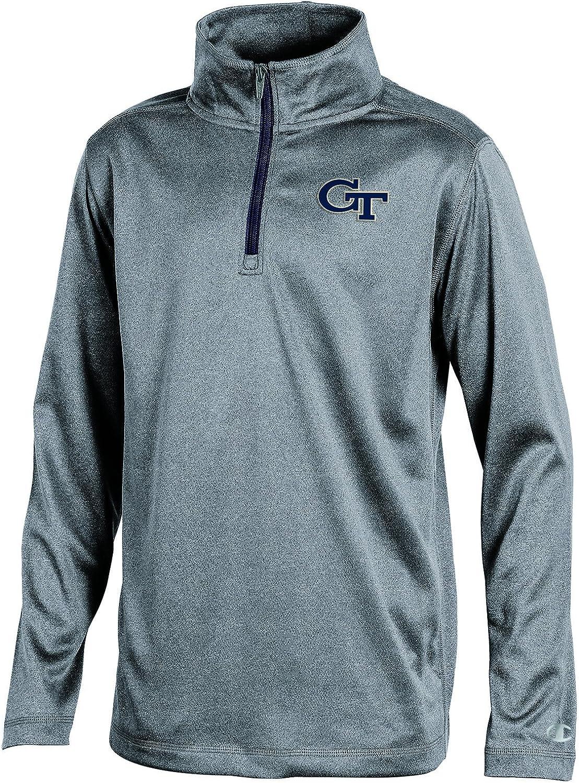 Champion NCAA teen-boys Ncaa Boys Long Sleeve Synthetic Quarter Zip
