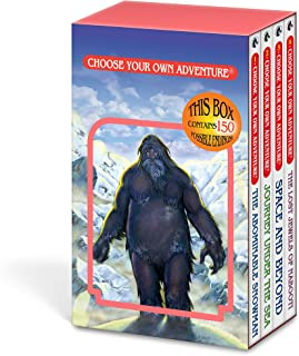 The Abominable Snowman/Journey Under the Sea/Space and Beyond/The Lost Jewels of Nabooti (Choose Your Own Adventure 1-4)