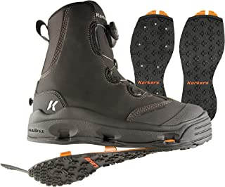 Korkers Devil's Canyon Wading Boot with Kling-On and Studded Kling-On Outsoles