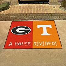 Fanmats Georgia - Tennessee House Divided Mat