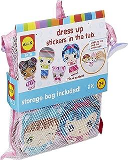 ALEX Toys Alex Bath Dress up Stickers in The Tub, Multi