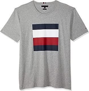 TOMMY HILFIGER Men's Signature Colour-Blocked Design T-Shirt