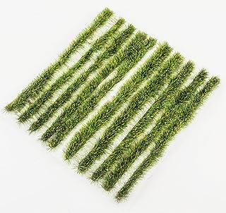 WWS 6 mm sommargräsremsor x 10 modell järnväg diorama landskap och terräng