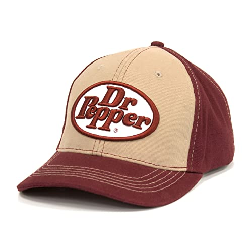 db23d294101 Tee Luv Dr Pepper Oval Logo Hat