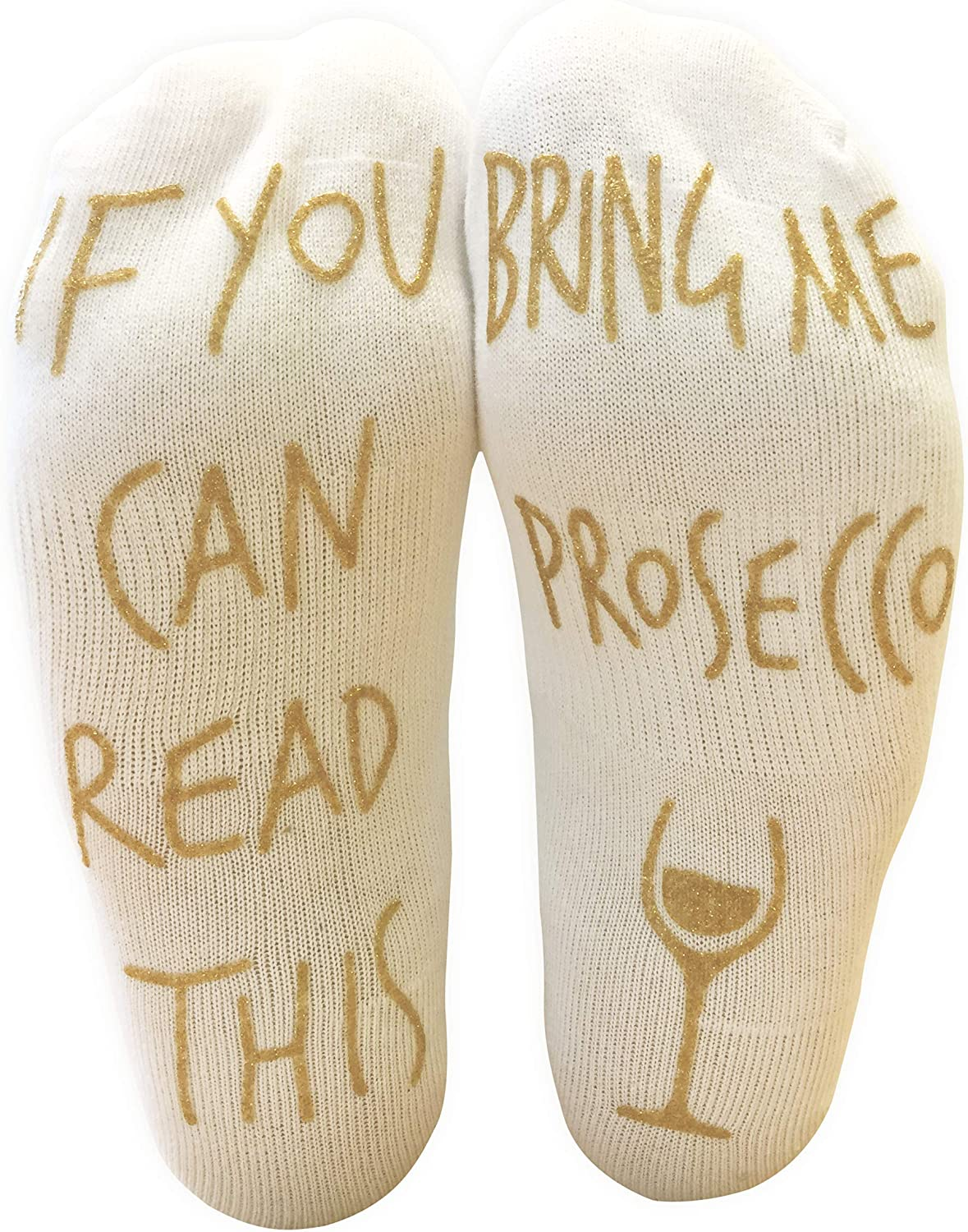 'If You Can Read This Max 54% OFF Bring Me Per Louisville-Jefferson County Mall - Ankle Prosecco' Funny Socks