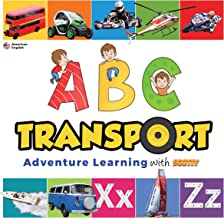 ABC Transport Children's eBook | Alphabet and Word Learning: Scotty Adventure Learning | US version