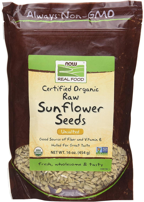 NOW Foods Organic Raw Ranking TOP6 Nippon regular agency Sunflower oz Seeds - 16
