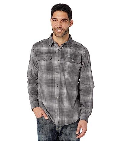 Columbia Flare Guntm Corduroy Shirt (City Grey Ombre Tartan) Men