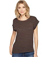 Splendid - French Stripe Roll-Up Tee