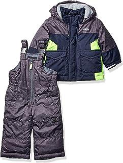 Baby Boys Ski Jacket and Snowbib Snowsuit Set