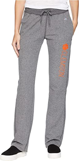 Clemson Tigers University Fleece Open Bottom Pants